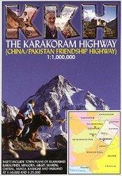 The Karakoram Highway térkép - Open Road