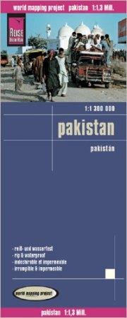 Pakisztán térkép - Reise Know-How