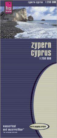 Ciprus térkép - Reise Know-How