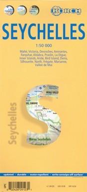 Seychelle-szigetek térkép - Borch