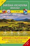 Sárosi-dombság, Branyiszkó turistatérkép (115) - VKÚ