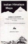 Kargil, Zanskar & Nun-Kun Area (no2.) térkép - West Col