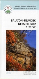 Balaton Highlands National Park, leisure map - Paulus
