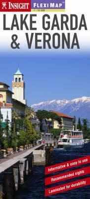 Garda-tó és Verona laminált térkép - Insight