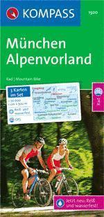 München-Alpenvorland (Set) - Kompass RWK 1920