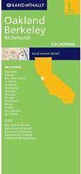 Oakland, Berkeley, Richmond (Kalifornia) térkép - Rand McNally
