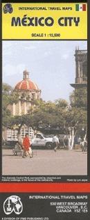 Mexikóváros térkép - ITM