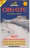 Cho Oyu térkép (52) - Himalayan Maphouse