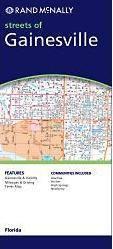 Gainesville, FL térkép - Rand McNally
