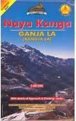 Naya Kanga (No.24) térkép - Himalayan Maphouse