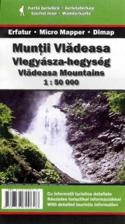 Vlegyásza-hegység turistatérkép - Dimap & Erfatur & Micromapper