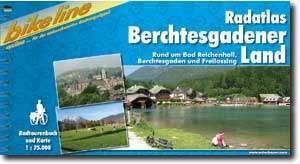 Berchtesgaden vidéke kerékpáros atlasz - Esterbauer