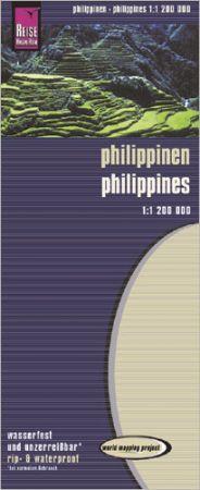 Fülöp-szigetek térkép - Reise Know-How