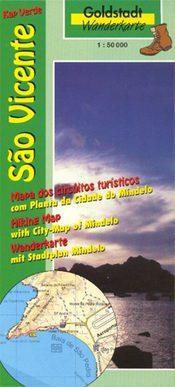 Sao Vicente térkép - Goldstadt Verlag