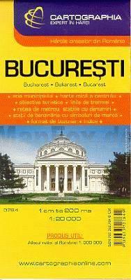 Bukarest térkép - Cartographia