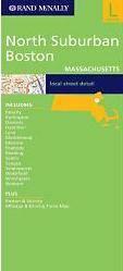 North Suburban Boston térkép - Rand McNally