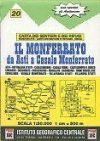 Monferrato térkép - IGC