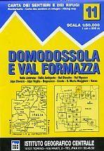 Domodossola, Val Formazza térkép - IGC