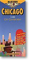 Chicago várostérkép - B & B
