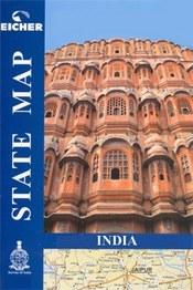 Uttarakhand térkép - Eicher State Road Maps