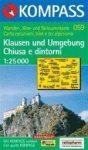 Chiusa és környéke turistatérkép (WK 059) - Kompass
