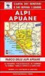 Alpi Apuane térkép (No 101/102) - Multigraphic