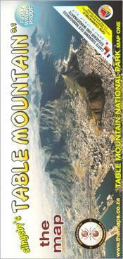 Table Mountain térkép - Baardskeerder