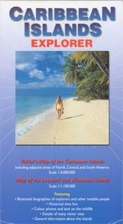 Karib-szigetek térkép - Ocean Explorer