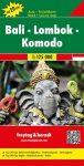 Bali, Lombok & Komodo, travel map - Freytag-Berndt