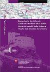 Burgenkarte der Schweiz - Landestopographie