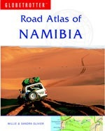 Namibia - Globetrotter: Road Atlas
