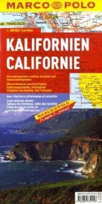 Kalifornia térkép - Marco Polo