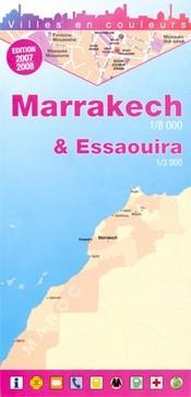 Marrakesh & Essaouira térkép - Laure Kane