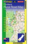 Fiordland térkép - Kiwimaps
