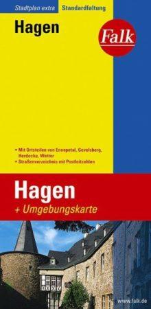 Hagen Extra várostérkép - Falk