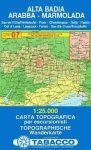 Alta Badia, Arabba, Marmolada térkép (07) - Tabacco