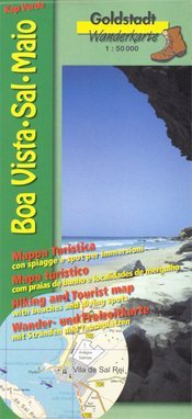 Boa Vista - Sal - Maio térkép - Goldstadt Verlag