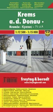 Krems várostérkép - Freytag-Berndt