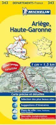 Ariège, Haute-Garonne (343) - Michelin