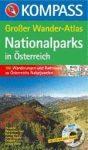 Nationalparks Österreich Großer Wander-Atlas - Kompass K 599