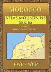 Azilal & M'Goun regionális térkép - EWP