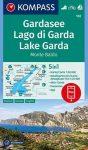Lago di Garda turistatérkép (WK 102) - Kompass