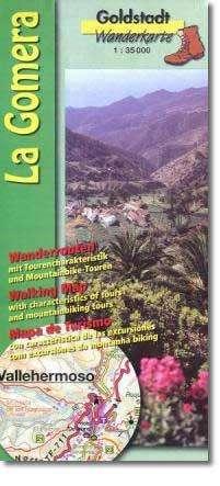 La Gomera térkép - Goldstadt Verlag