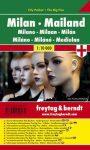 Milánó zsebtérkép - Freytag-Berndt