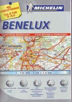 Benelux Tourist and Motoring Atlas - Michelin