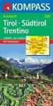 Tirol-Südtirol-Trentino panorámatérkép - Kompass AK 358