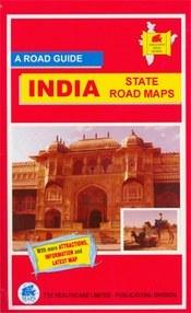 Madhya Pradesh térkép - TTK