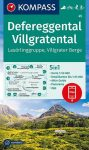 Defereggental, Villgratental turistatérkép (WK 45) - Kompass