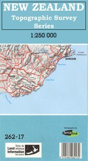 Mount Cook térkép - Land Information