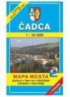 Csaca térkép - VKÚ